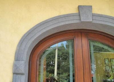 Montanaro torino s r l contorni porte e finestre in cemento o polistirene - Hermes porte e finestre srl ...