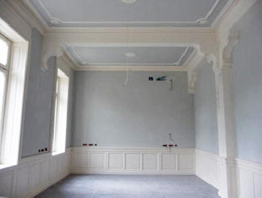 Stucchi e decori in gesso pannelli termoisolanti - Decori in gesso per interni ...