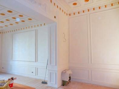 Montanaro torino s r l cornici in gesso - Stucchi decorativi per pareti ...