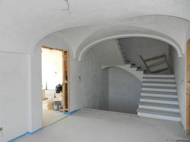 Il soffitto a botte del locale foto di kapunto matera tripadvisor