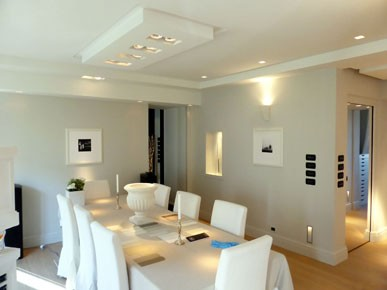 Controsoffitto A Isola Con Led Finito Pictures to pin on Pinterest