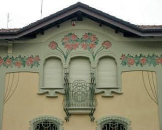 Montanaro torino s r l contorni porte e finestre in cemento o polistirene - Finestre liberty ...
