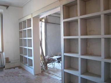Montanaro Torino s.r.l. - Library plasterboard